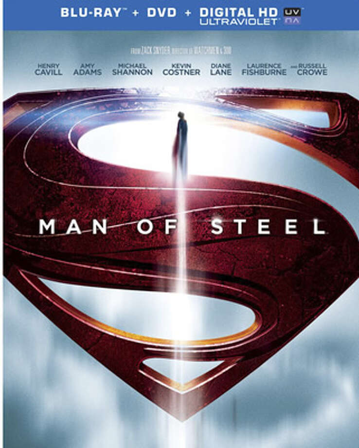 "BD/DVD cover of ""Man of Steel."" Photo: Warner Bros., 2013"