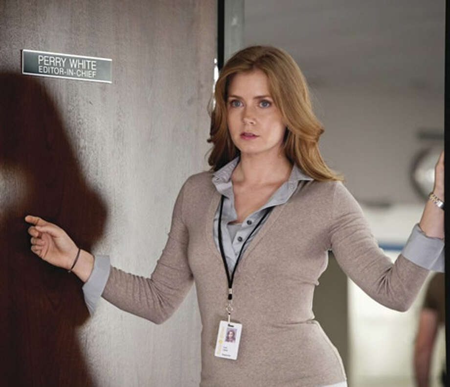 Amy Adams as Lois Lane. Photo: Warner Bros., 2013