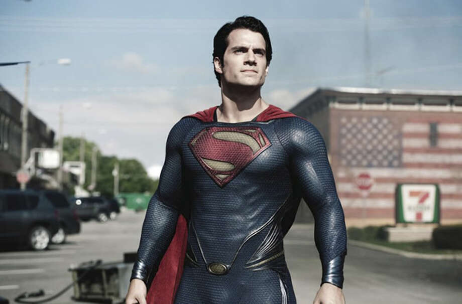 Henry Cavill as Superman. Photo: Warner Bros., 2013