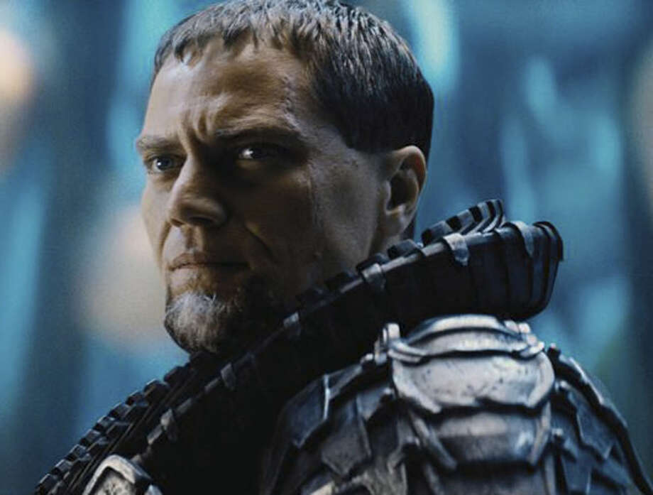 Michael Shannon as General Zod. Photo: Warner Bros., 2013