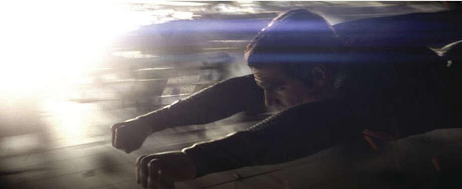 Henry Cavill as Superman. Photo: Warner Bros., 2013