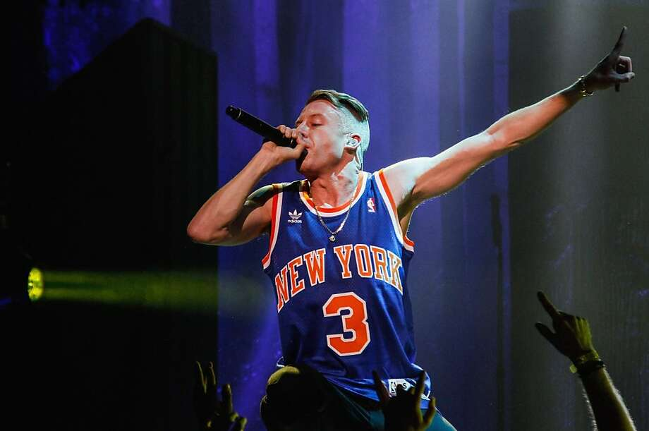 NEW YORK, NY - NOVEMBER 13:  Macklemore performs at The Theater at Madison Square Garden on November 13, 2013 in New York, New York.  (Photo by Janette Pellegrini/Getty Images) Photo: Janette Pellegrini, Getty Images