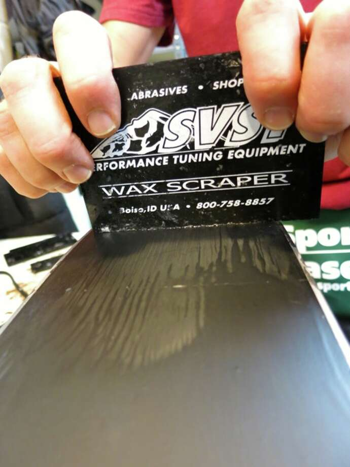 Scraping the wax Photo: Jules