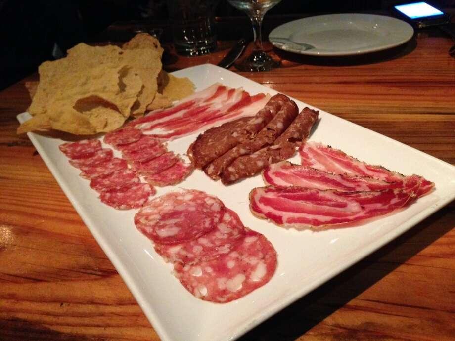The chef's salumi platter ($18)