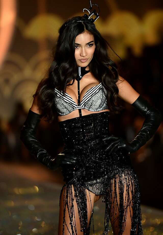 NEW YORK, NY - NOVEMBER 13:  Model Kelly Gale walks the runway at the 2013 Victoria's Secret Fashion Show at Lexington Avenue Armory on November 13, 2013 in New York City.  (Photo by Dimitrios Kambouris/Getty Images for Victoria's Secret) Photo: Dimitrios Kambouris, (Credit Too Long, See Caption)