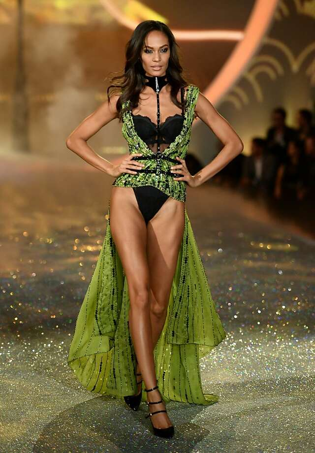 Joan Smalls... Photo: Dimitrios Kambouris, (Credit Too Long, See Caption)