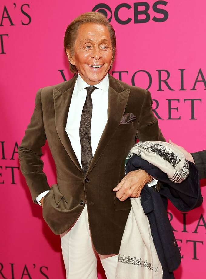NEW YORK, NY - NOVEMBER 13:  Designer Valentino Garavani attends the 2013 Victoria's Secret Fashion Show at Lexington Avenue Armory on November 13, 2013 in New York City.  (Photo by Neilson Barnard/Getty Images for Victoria's Secret) Photo: Neilson Barnard, (Credit Too Long, See Caption)