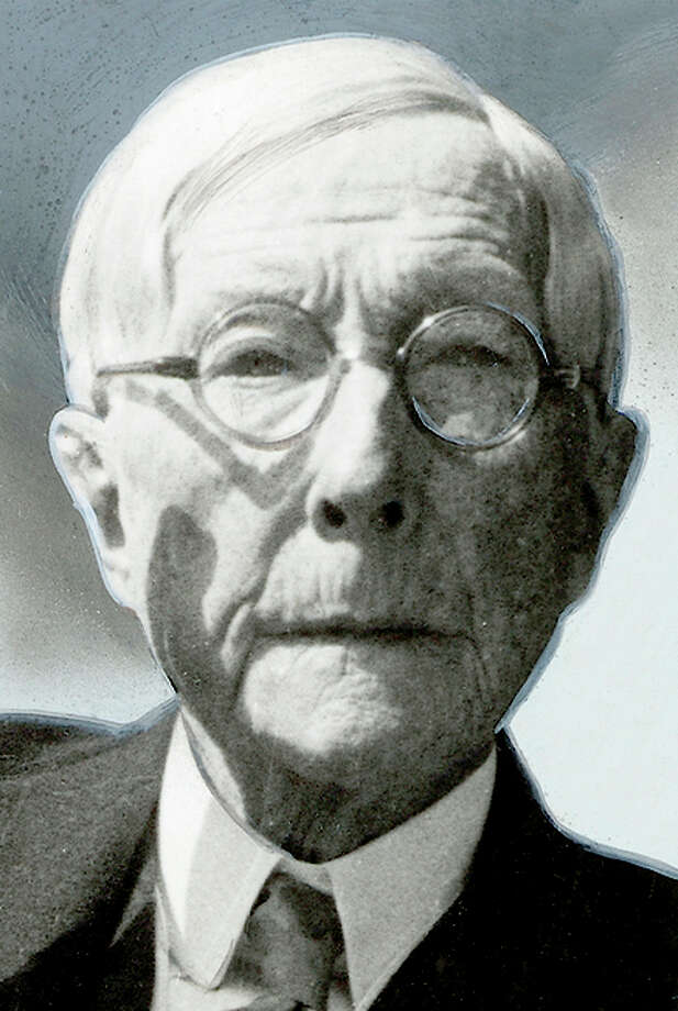 John D. Rockefeller turned oil into untold wealth. Photo: Copyright Newsreel Theatre: / From World Wide Photos / sfc