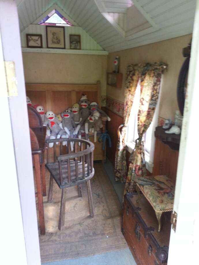 The interior of the smaller playhouse. Photo: Emily Spicer, San Antonio Express-News