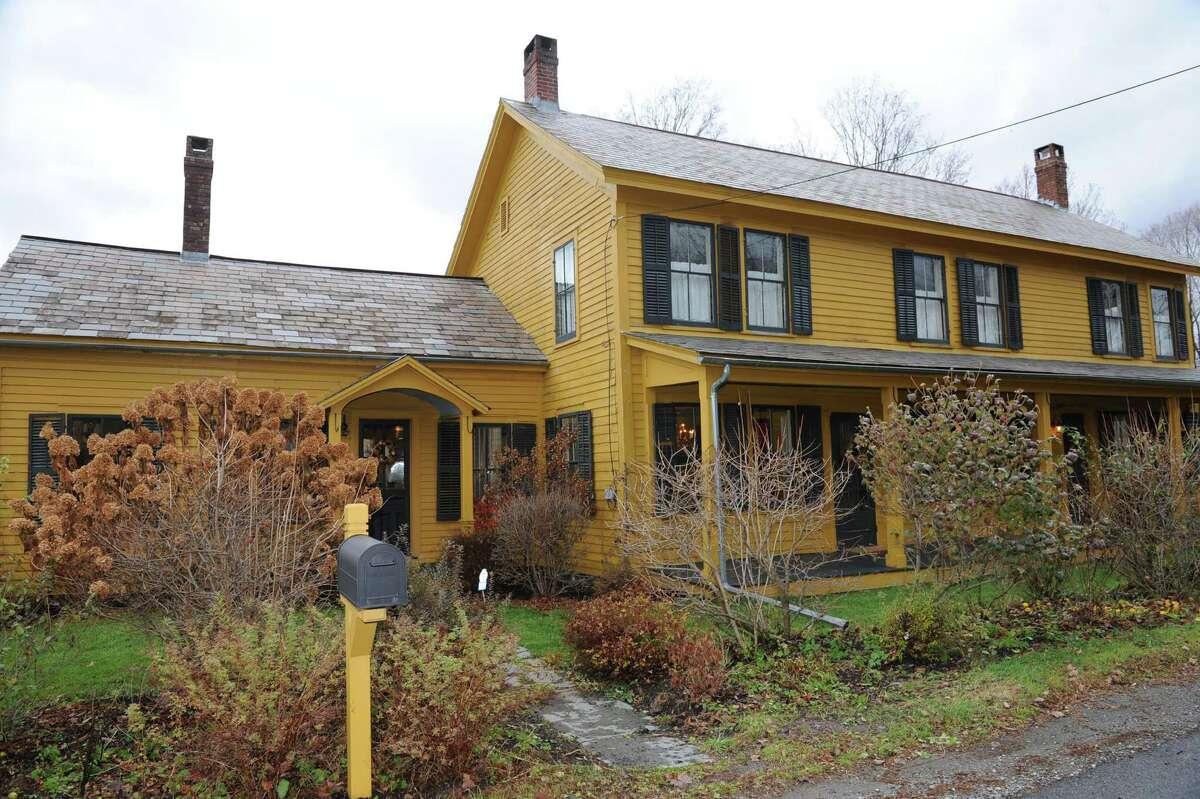 Exterior of Charlie Burd and Chef Suvir Saran's house on Thursday, Nov. 7, 2013 in Hebron, N.Y. (Lori Van Buren / Times Union)