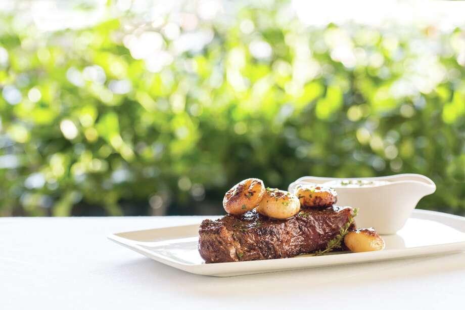 Booked: Fleming's Steakhouse255 E. Basse RoadSteak | Alamo Heights | $31 to $5094% recommend Photo: Courtesy Fleming's Prime Steakhouse & Wine Bar / 2013 Jennifer Davick