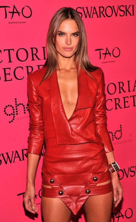 Model Alessandra Ambrosio attends the 2013 Victoria's Secret Fashion Show at TAO Downtown on November 13, 2013 in New York City.  (Photo by Stephen Lovekin/Getty Images) Photo: Stephen Lovekin, Getty Images