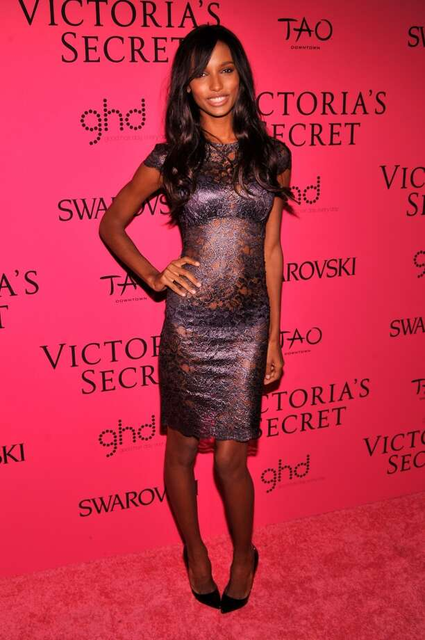 Model Jasmine Tookes attends the 2013 Victoria's Secret Fashion Show at TAO Downtown on November 13, 2013 in New York City.  (Photo by Stephen Lovekin/Getty Images) Photo: Stephen Lovekin, Getty Images