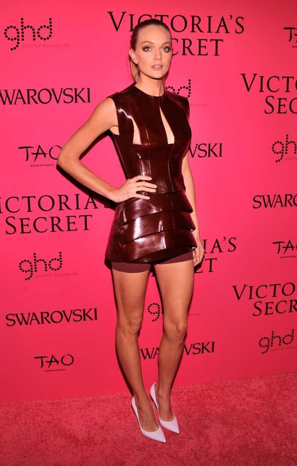 Model Lindsay Ellingson attends the 2013 Victoria's Secret Fashion Show at TAO Downtown on November 13, 2013 in New York City.  (Photo by Stephen Lovekin/Getty Images) Photo: Stephen Lovekin, Getty Images