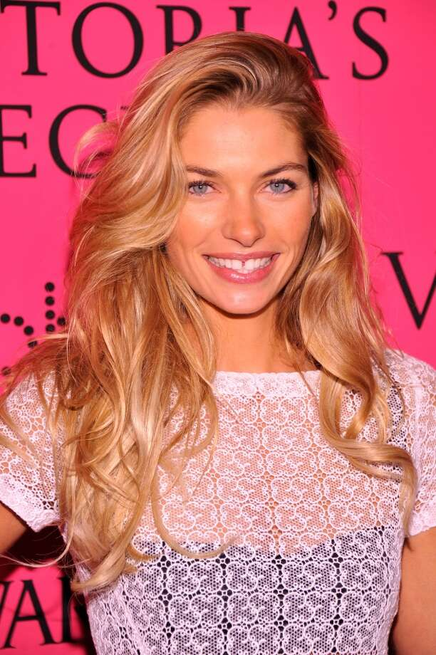 Model Jessica Hart attends the 2013 Victoria's Secret Fashion Show at TAO Downtown on November 13, 2013 in New York City.  (Photo by Stephen Lovekin/Getty Images) Photo: Stephen Lovekin, Getty Images