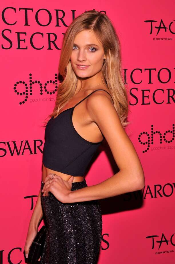 Model Constance Jablonski attends the 2013 Victoria's Secret Fashion Show at TAO Downtown on November 13, 2013 in New York City.  (Photo by Stephen Lovekin/Getty Images) Photo: Stephen Lovekin, Getty Images