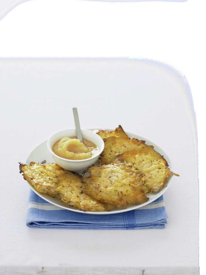 Healthy Makeover: Latkes From Good Housekeeping Photo: Kate Mathis
