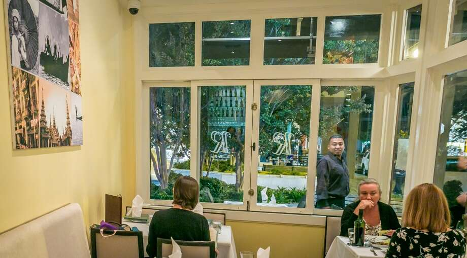 Diners have dinner at Rangoon Ruby in San Carlos. Photo: John Storey, Special To The Chronicle