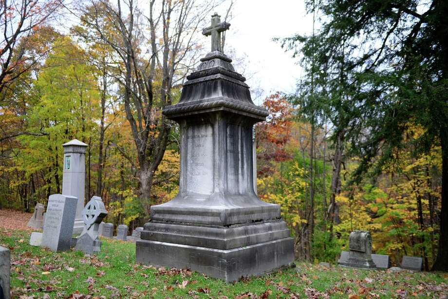 Edward C. Delavan was a wealthy wine merchant and proprietor of the Delavan House, Albany?s grandest hotel at the time. His burial monument is in section 53 of Albany Rural Cemetery. (Will Waldron/Times Union) Photo: Will Waldron, Times Union / 00023993A