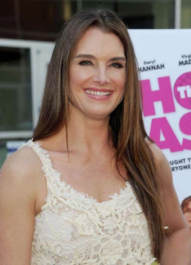 Brooke Shields gave birth to her second daughter at age 40. Photo: Gregg DeGuire, WireImage / 2013 Gregg DeGuire