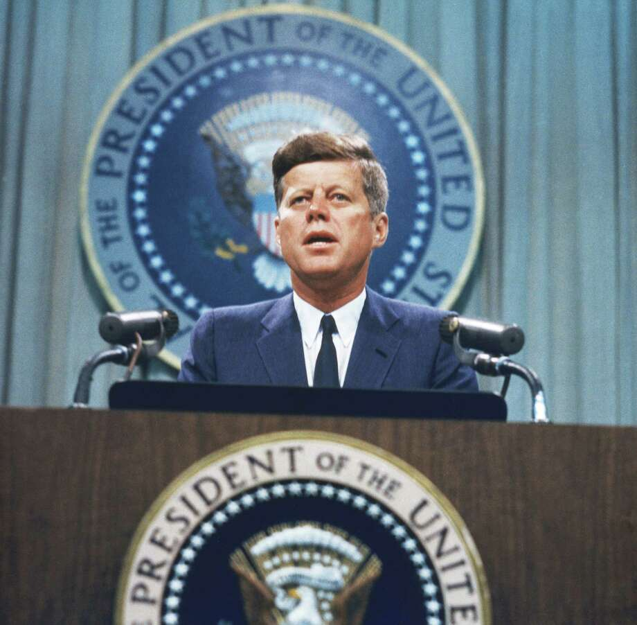 President John F. Kennedy's  spell over Americans remains unbroken, although many would say his biggest legacy is how he shaped the modern presidential campaign. Photo: Getty Images File Photo