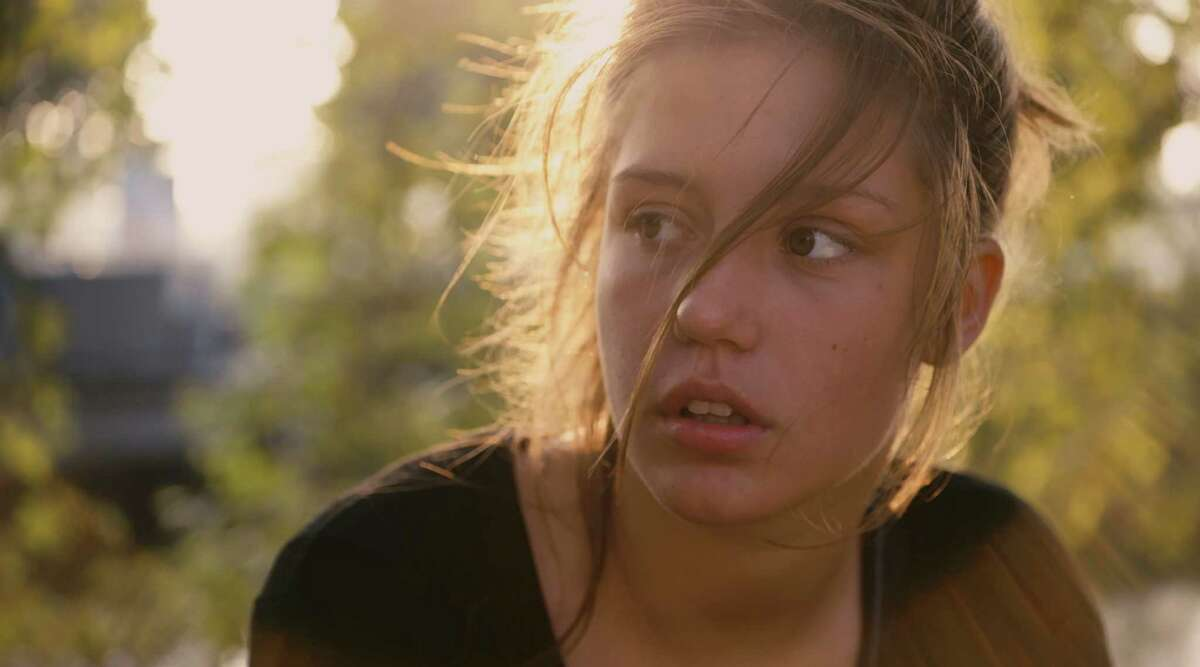"""Adele Exarchopoulos in """"Blue Is the Warmest Color,"""" in an undated handout image. a€œBlue Is the Warmest Color,a€ which has now opened in the U.S. after a win at the Cannes Film Festival, is a sexual coming-of-age story about a French provincial teenager with a strong hunger that has a distinctly carnal aspect and invokes an association between literal and sexual appetite. (Sundance Selects via The New York Times) -- NO SALES; FOR EDITORIAL USE ONLY WITH STORY SLUGGED FILM-BLUE ADV27. ALL OTHER USE PROHIBITED. -- PHOTO MOVED IN ADVANCE AND NOT FOR USE - ONLINE OR IN PRINT - BEFORE OCT. 27, 2013. ORG XMIT: XNYT19"""