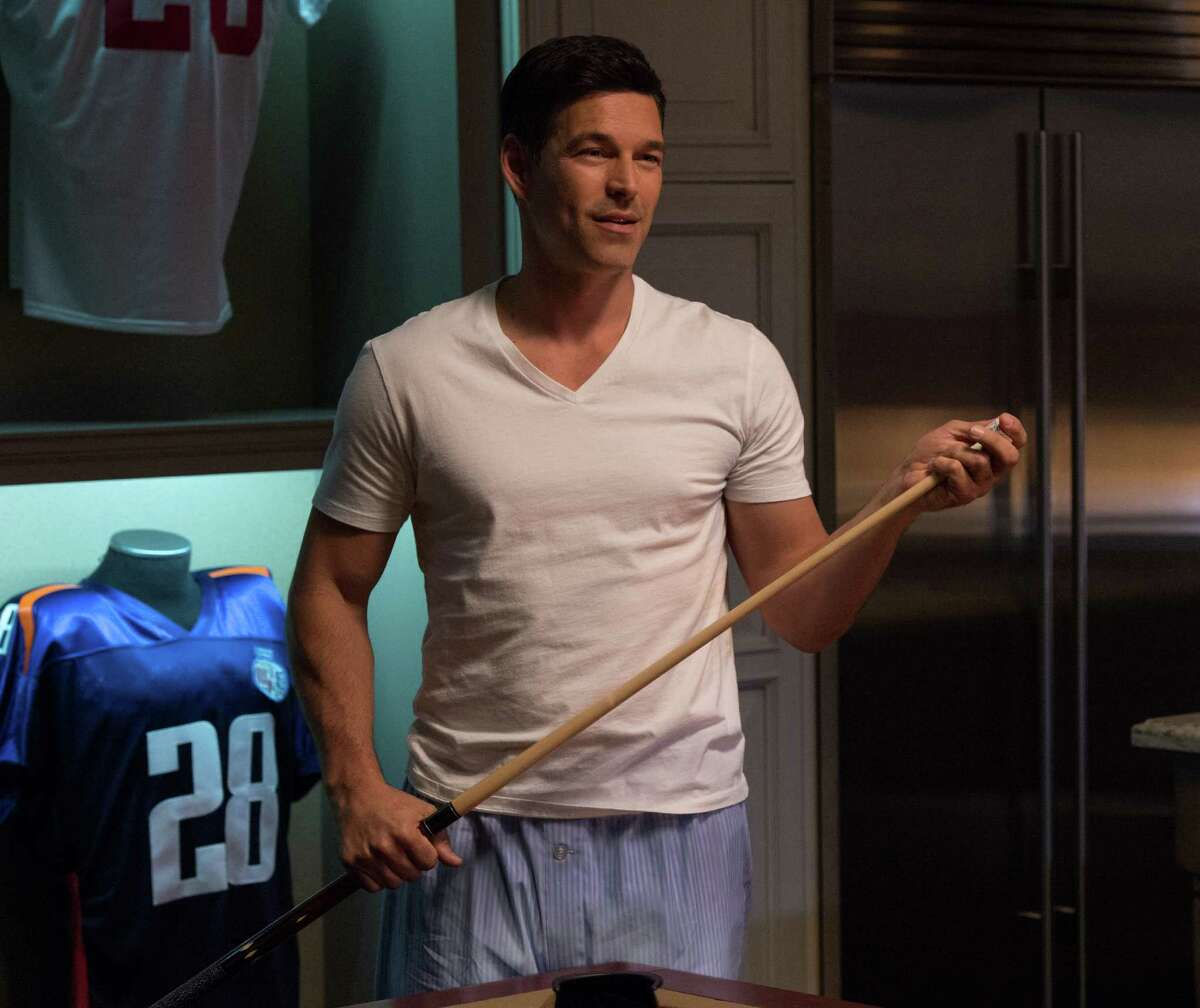 """This image released by Universal Pictures shows Eddie Cibrian in a scene from """"The Best Man Holiday."""" (AP Photo/Universal Pictures, Michael Gibson) ORG XMIT: NYET165"""