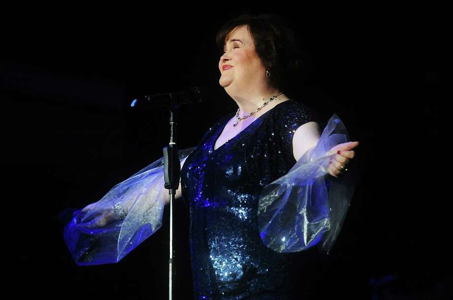 Susan Boyle performs at the Music Hall during her first tour on July 4, 2013 in Aberdeen, Scotland. Photo: Scott Campbell, Contributor / 2013 Scott Campbell