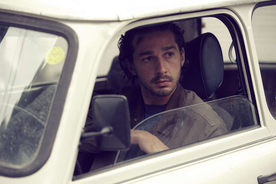 """This image released by Millenium Entertainment shows Shia LaBeouf  in a scene from """"Charlie Countryman,"""" about a man who falls for a woman who belongs to a violent crime boss.  (AP Photo/Millenium Entertainment) Photo: HOEP / Millenium Entertainment"""