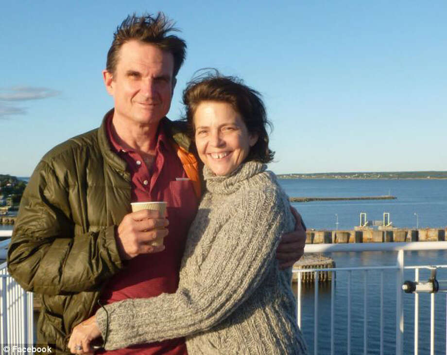 A facebook photo of Madonna Badger, who lost her three daughters and parents to a Stamford, Connecticut house fire on Christmas Day, 2011,  with her fiance, William Duke. Photo: Contributed Photo / Stamford Advocate Contributed