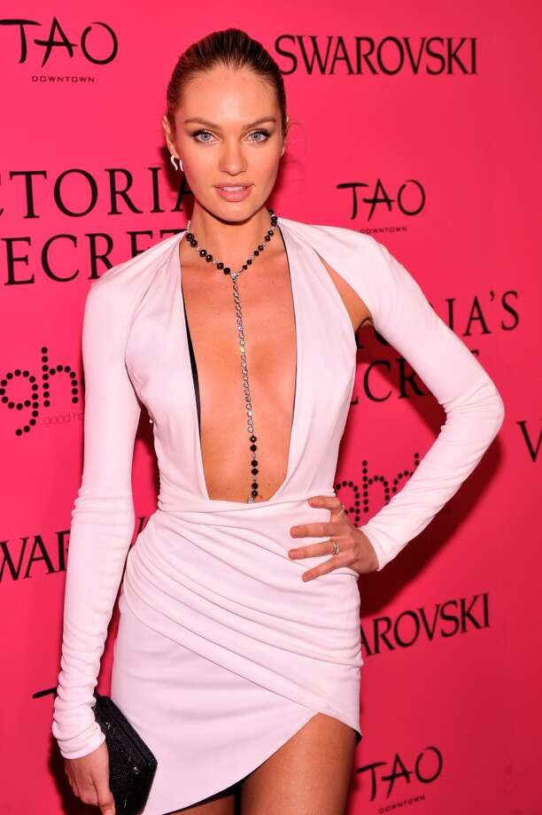 Model Candice Swanepoel attends the 2013 Victoria's Secret Fashion Show at TAO Downtown on November 13, 2013 in New York City.  (Photo by Stephen Lovekin/Getty Images) Photo: Stephen Lovekin, Getty Images