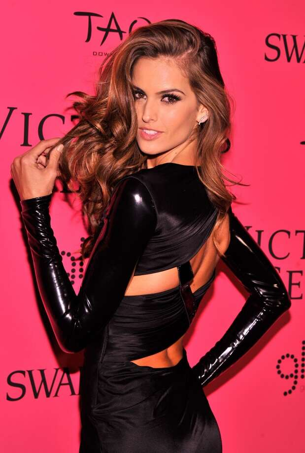 Model Izabel Goulart attends the 2013 Victoria's Secret Fashion Show at TAO Downtown on November 13, 2013 in New York City.  (Photo by Stephen Lovekin/Getty Images) Photo: Stephen Lovekin, Getty Images