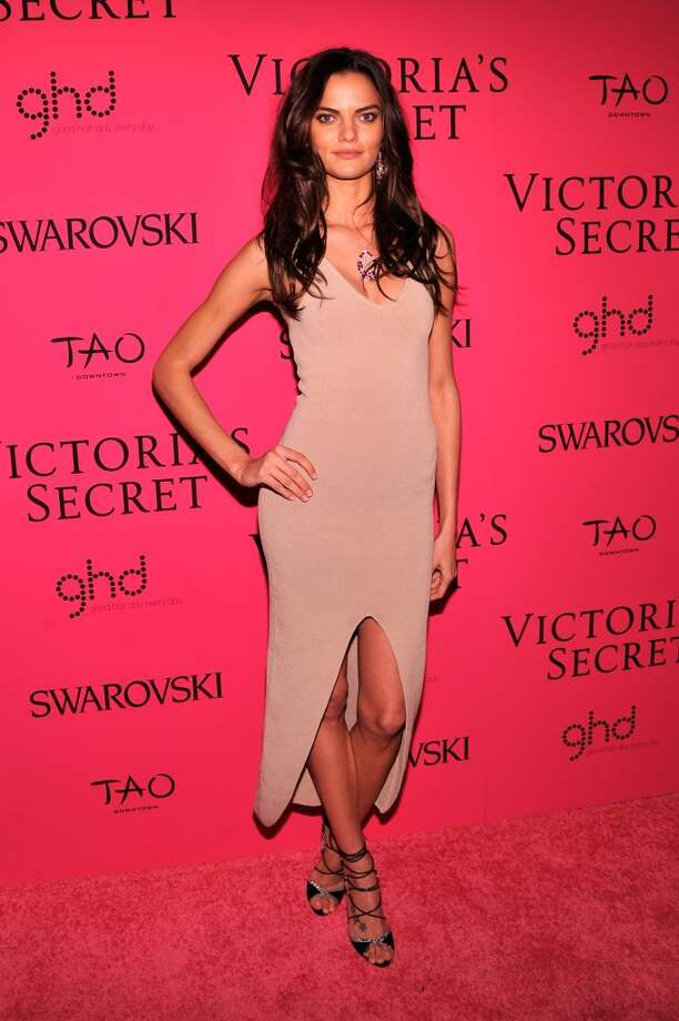 Model Barbara Fialho attends the 2013 Victoria's Secret Fashion Show at TAO Downtown on November 13, 2013 in New York City.  (Photo by Stephen Lovekin/Getty Images) Photo: Stephen Lovekin, Getty Images