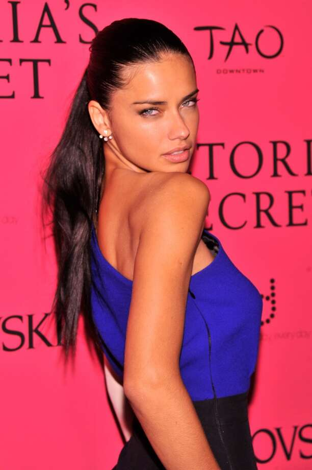 Model Adriana Lima attends the 2013 Victoria's Secret Fashion Show at TAO Downtown on November 13, 2013 in New York City.  (Photo by Stephen Lovekin/Getty Images) Photo: Stephen Lovekin, Getty Images