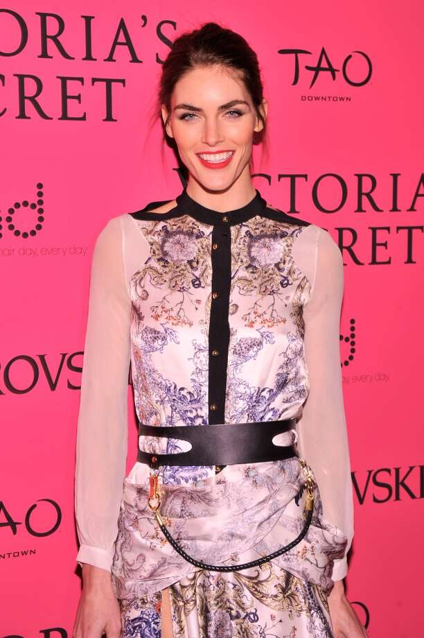Model Hilary Rhoda attends the 2013 Victoria's Secret Fashion Show at TAO Downtown on November 13, 2013 in New York City.  (Photo by Stephen Lovekin/Getty Images) Photo: Stephen Lovekin, Getty Images