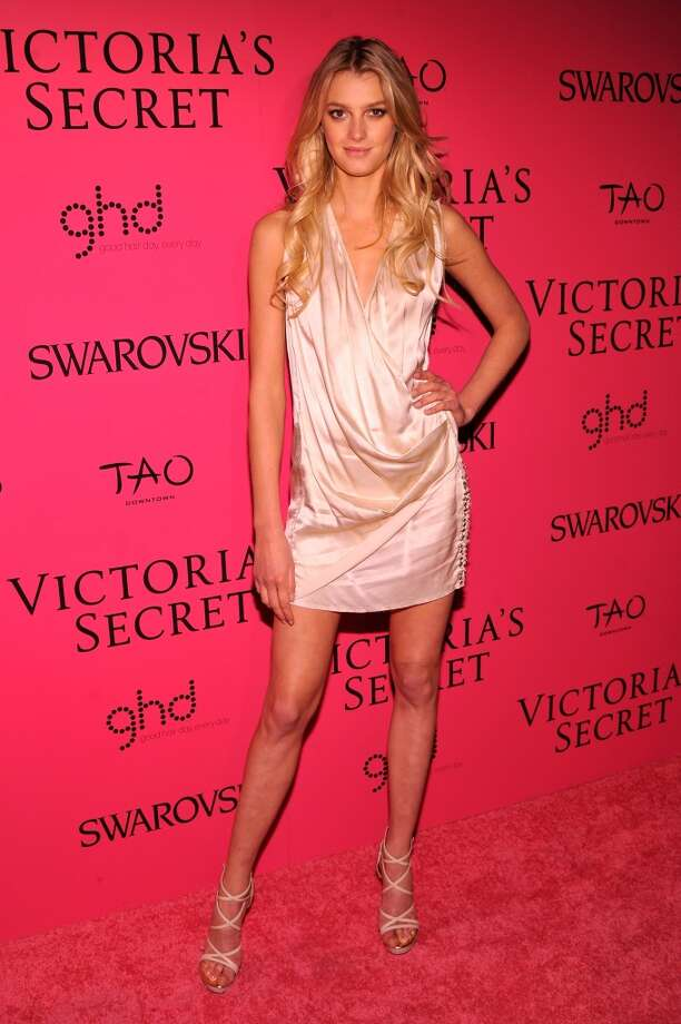 Model Sigrid Agren attends the 2013 Victoria's Secret Fashion Show at TAO Downtown on November 13, 2013 in New York City.  (Photo by Stephen Lovekin/Getty Images) Photo: Stephen Lovekin, Getty Images