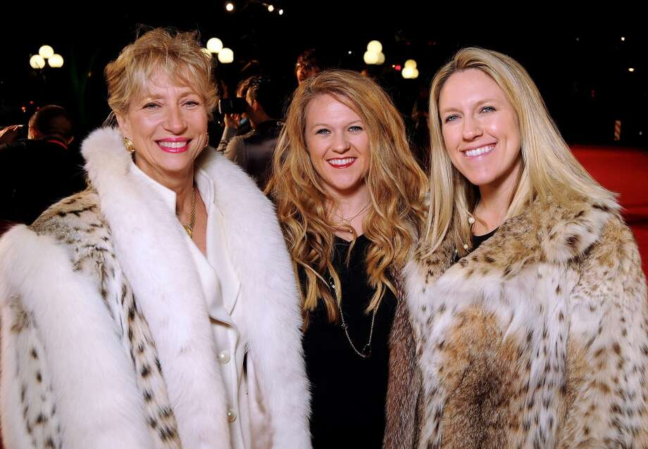 From left: Priscilla Pickett, Jennifer Pickett and Christina Blackwell on the red carpet at Fashion Houston at the Wortham Theater Wednesday Nov.13. Photo: Dave Rossman, For The Houston Chronicle
