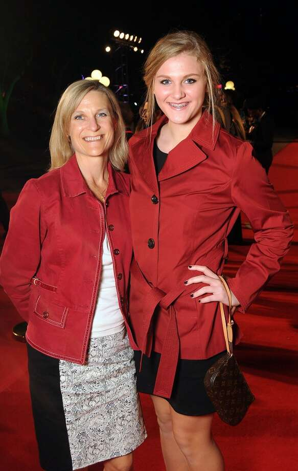 Nancy and Kristin Olansen on the red carpet at Fashion Houston at the Wortham Theater Wednesday Nov.13. Photo: Dave Rossman, For The Houston Chronicle