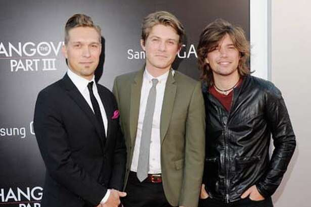 Isaac Hanson, Taylor Hanson and Zac Hanson of Hanson