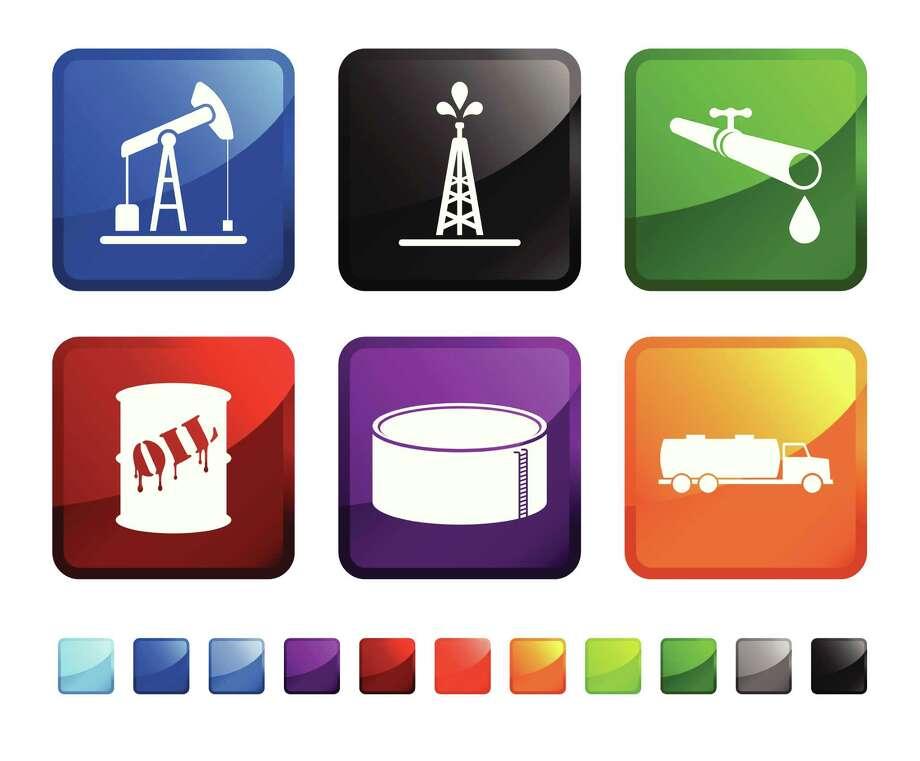 oil delivery sticker set Photo: Bubaone / iStockphoto
