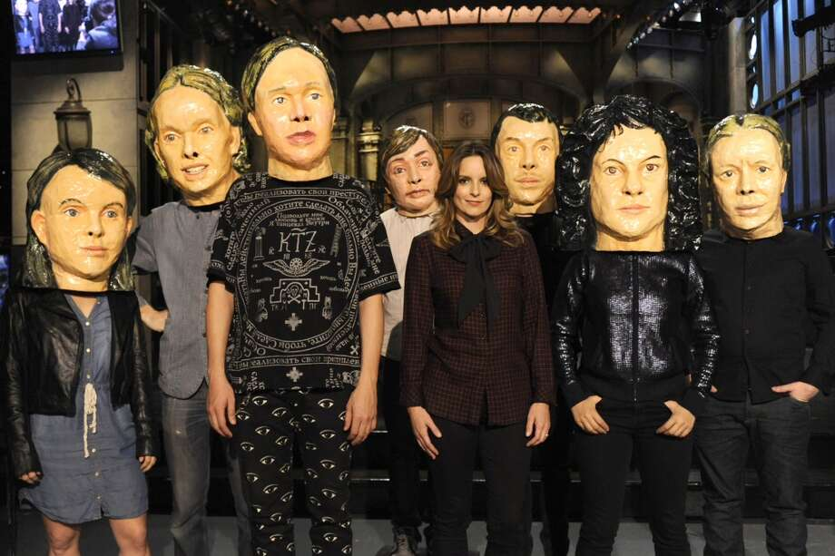 SATURDAY NIGHT LIVE -- Pictured: Tina Fey, Arcade Fire -- (Photo by: Dana Edelson/NBC/NBCU Photo Bank via Getty Images) Photo: NBC, NBCU Photo Bank Via Getty Images