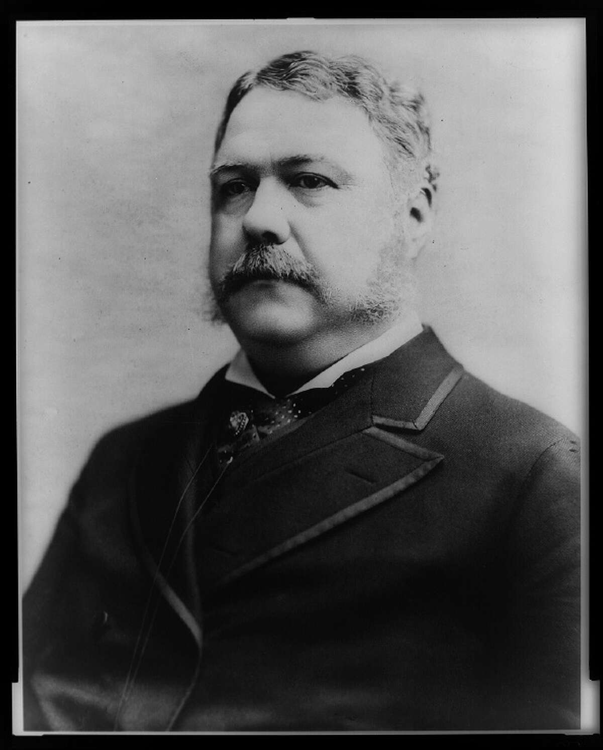 President Chester Alan Arthur (1882) Source: Library of Congress
