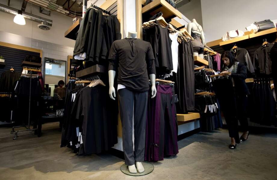 This Nov. 5, 2013, photo shows the Lululemon Lab and store in Vancouver, British Columbia. (AP Photo/The Canadian Press, Jonathan Hayward) Photo: Associated Press