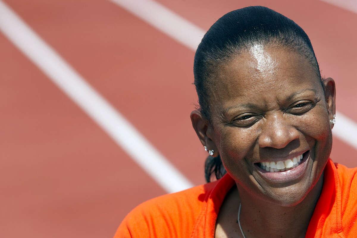 Former track coach Bev Kearney resigned from UT in January.