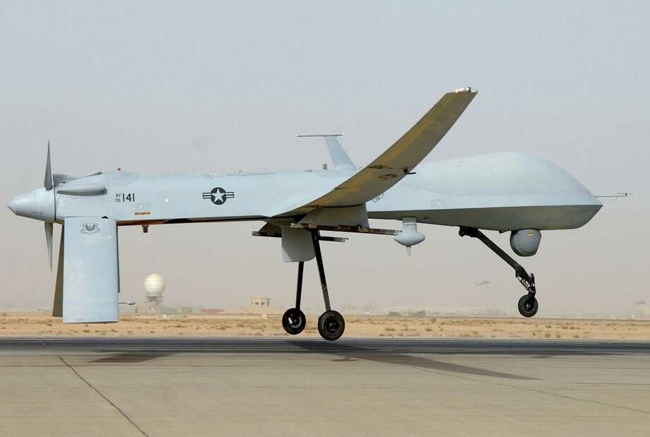 The Air Force is moving toward scaling back combat missions flown with unmanned aircraft by more than 25 percent. Photo: Getty Images File Photo