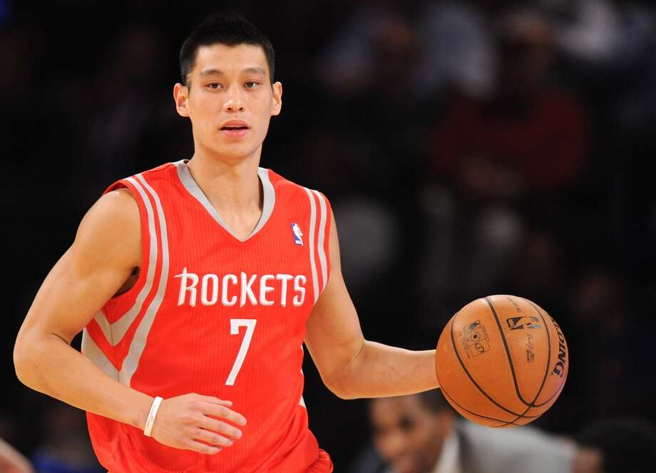 Nov. 14: Rockets 109, Knicks 106   Jeremy Lin #7 of the Rockets carries the ball down court. Photo: Maddie Meyer, Getty Images