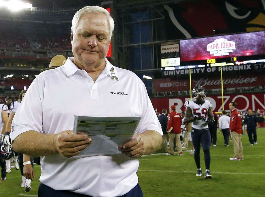 Texans defensive coordinator Wade Phillips has had plenty of roster spots to fill with names such as Brian Cushing and Ed Reed out of the mix. Photo: Ross D. Franklin / Associated Press