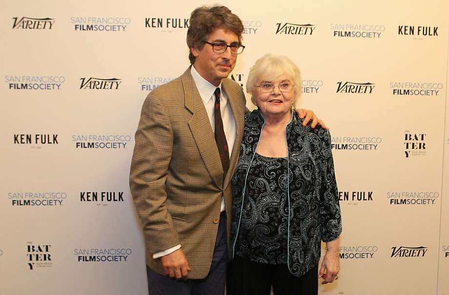 Director Alexander Payne and Actress June Squibb (Nebraska) pose for photographers at the San Francisco Film Society's Inaugural Fall Celebration in San Francisco on Thursday, Nov. 14, 2013. Photo: Mathew Sumner, Special To The Chronicle
