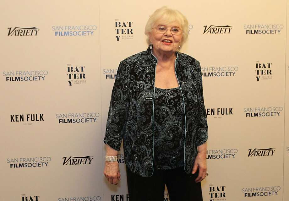 Actress June Squibb (Nebraska) poses for photographers at the San Francisco Film Society's Inaugural Fall Celebration in San Francisco on Thursday, Nov. 14, 2013. Photo: Mathew Sumner, Special To The Chronicle