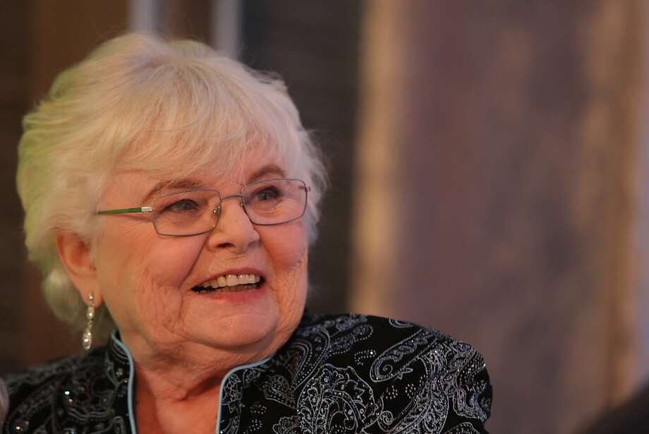 Actress June Squibb (Nebraska) answers a question during a news conference at the San Francisco Film Society's Inaugural Fall Celebration in San Francisco on Thursday, Nov. 14, 2013. Photo: Mathew Sumner, Special To The Chronicle